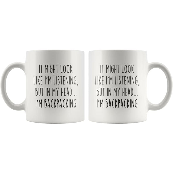 Sarcastic Backpacking Coffee Mug | Funny Backpacking Gift $13.99 | Drinkware