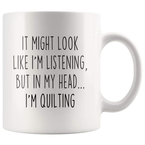 Sarcastic Quilting Coffee Mug | Funny Quilting Gift $14.99 | 11oz Mug Drinkware