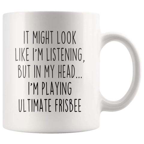 Sarcastic Ultimate Frisbee Coffee Mug | Funny Ultimate Frisbee Gift $13.99 | 11oz Mug Drinkware
