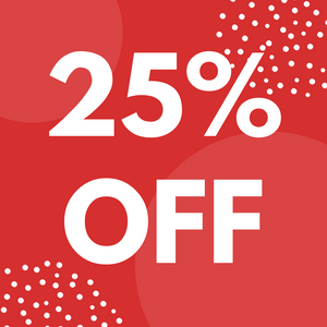 Click Here for 25% Off Sale!