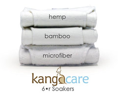 Rumparooz Kanga Care 6r Insert _ Bamboo _ Hemp _ The Green Tot Spot Cloth Diapers
