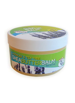 CJ's BUTTer Shea Butter Balm - 2 oz Jar & 6 oz Pot - The Green Tot Spot
