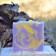 Sheepish Grins Goat Milk Soap - Lemon Lavender