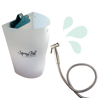 Spray Pal Diaper Sprayer & Splatter Shield Bundle