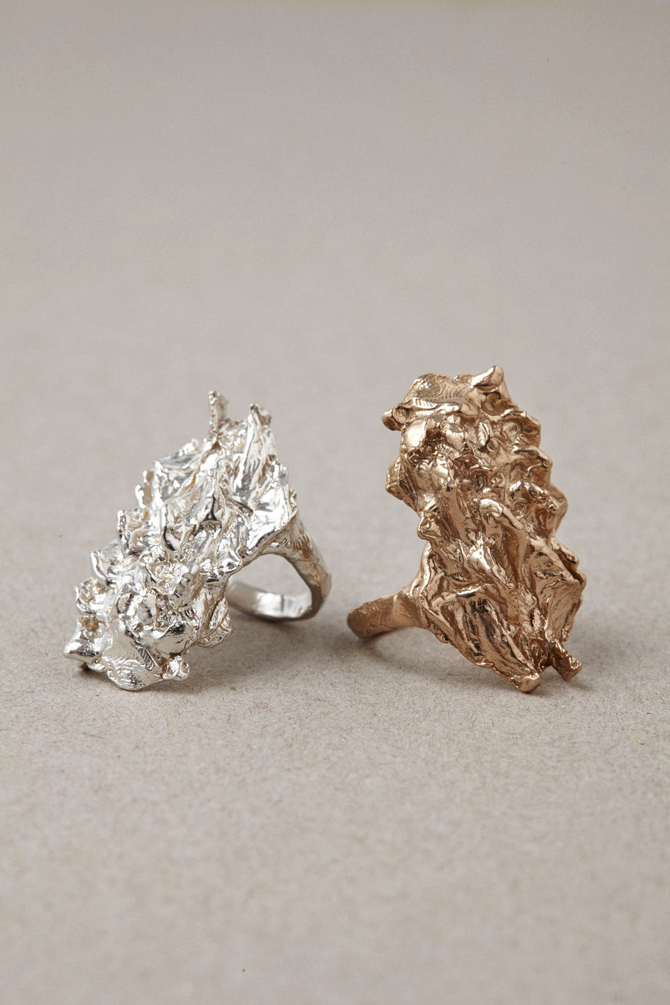 CAPA Cactus Ring in Bronze or Silver