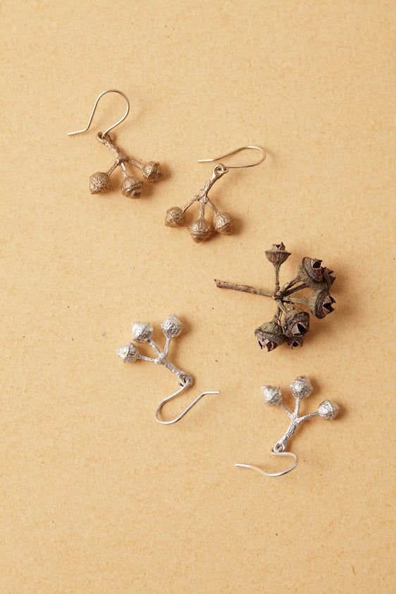 TIMBRE Bud Earrings in Bronze