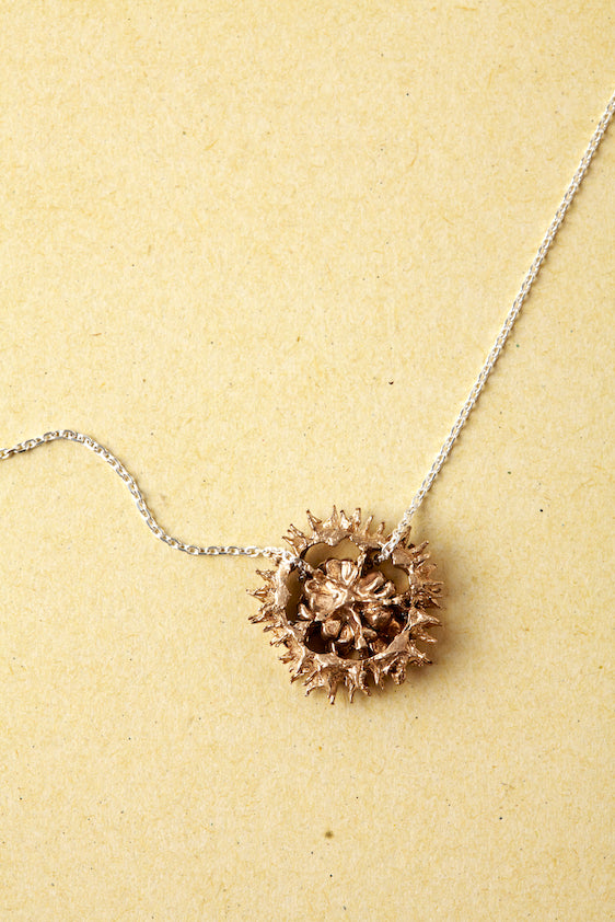 GUARDA Necklace in Bronze or Silver