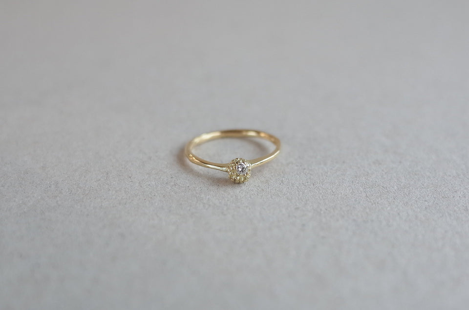 Gold ORIGEN Seedling Ring with stone