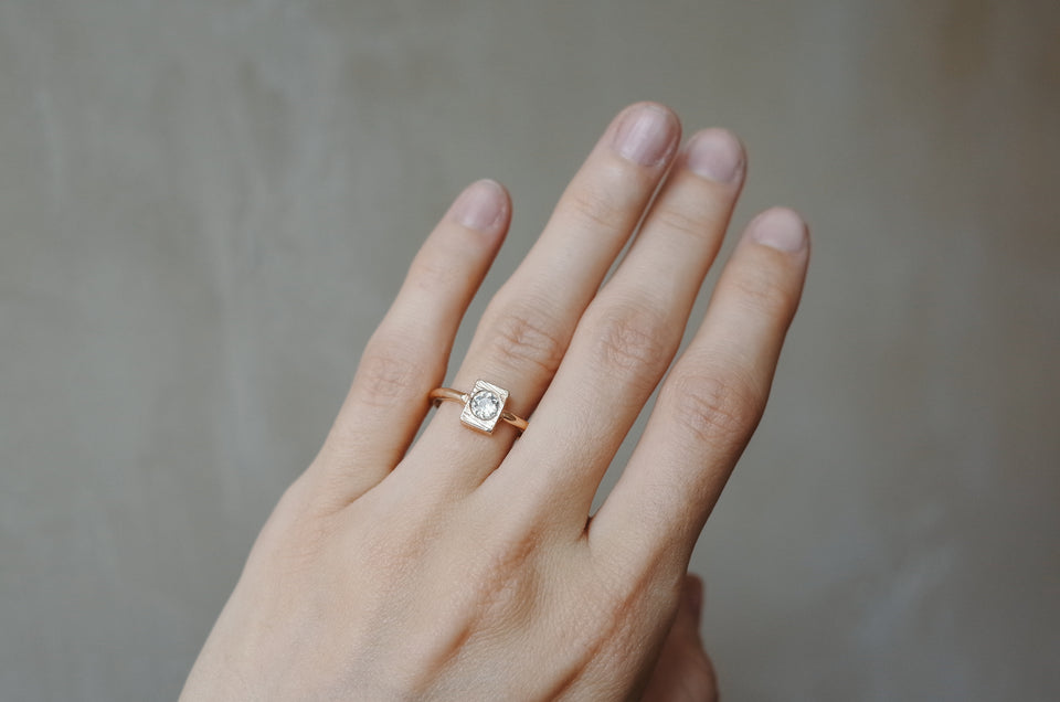 Sculpted Box Ring