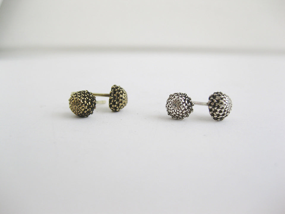 Pith Studs in Bronze
