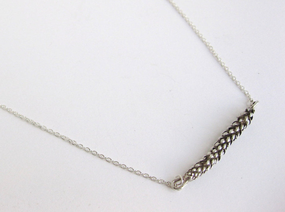 Fern Necklace in Bronze or Silver