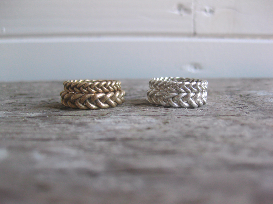 Braided Band in Bronze