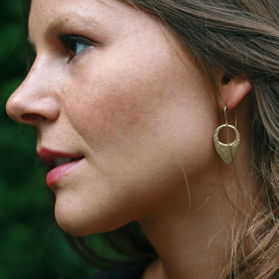 Crescent Tab Earrings