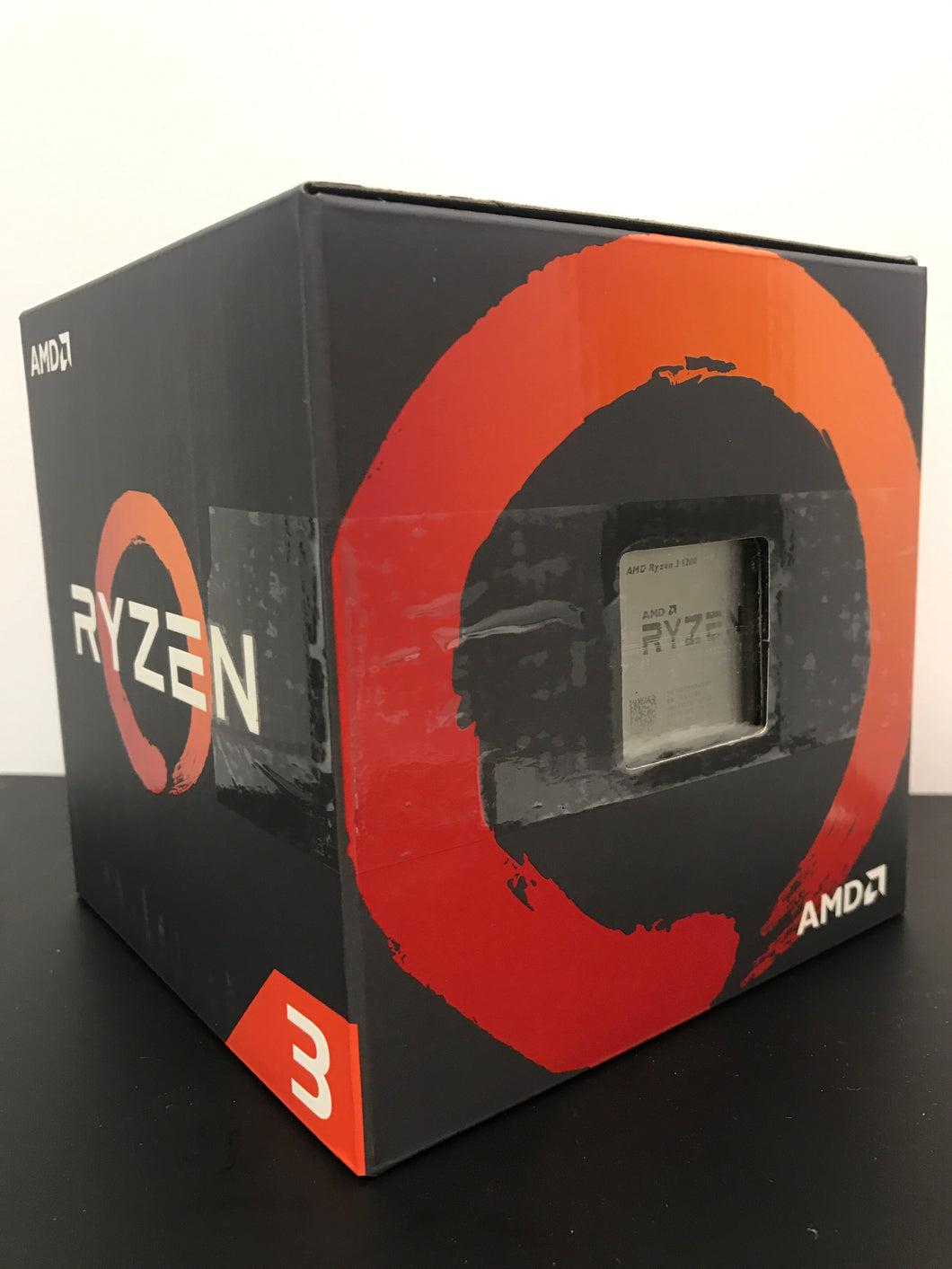 AMD Ryzen 3 1200 CPU with Wraith Stealth Cooler - Silver