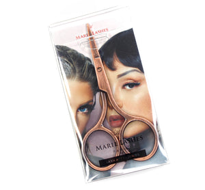 Lash Scissors Rose Gold