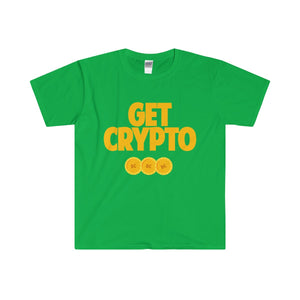 GET CRYPTO Short Sleeve Tee
