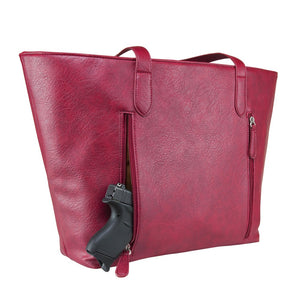 Concealed Carry Tote Bag Large - 3 Colors