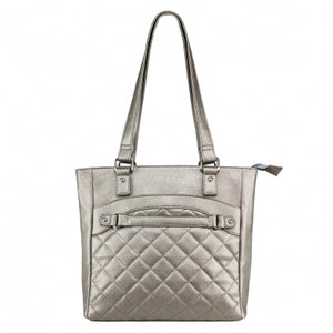 Concealed Carry Quilted Tote Purse - 3 Colors