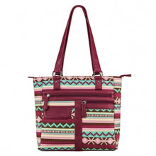 Concealed Carry Printed Tote Bag - 3 Colors