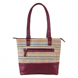 Concealed Carry Woven Tote Bag - 3 Colors