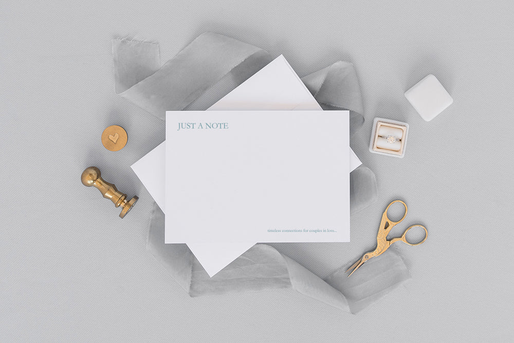 Luxury Letterpress Personalized Notecards