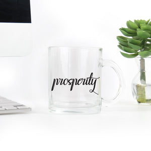 Prosperity Coffee - Clear Mug
