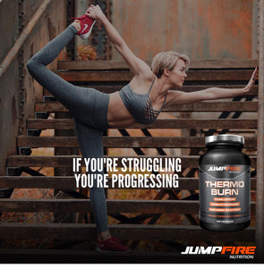 EXPIRED Label - Jumpfire Nutrition Thermogenic T5 Fat Burner Supplement