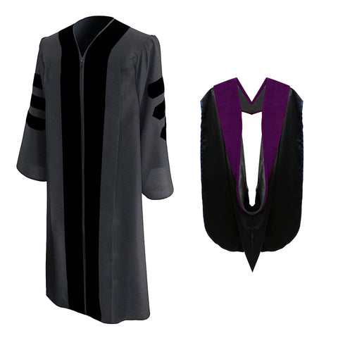 Classic Doctoral Graduation Gown & Hood Package - Drexel University