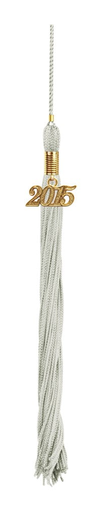 Silver High School Tassel