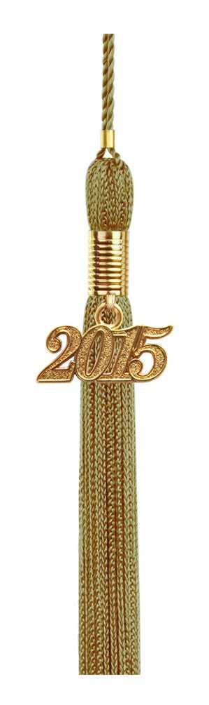 Antique Gold High School Tassel