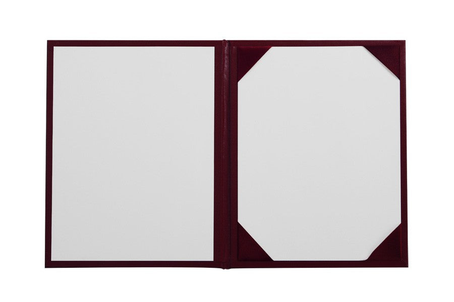 Maroon Imprinted High School Diploma Cover