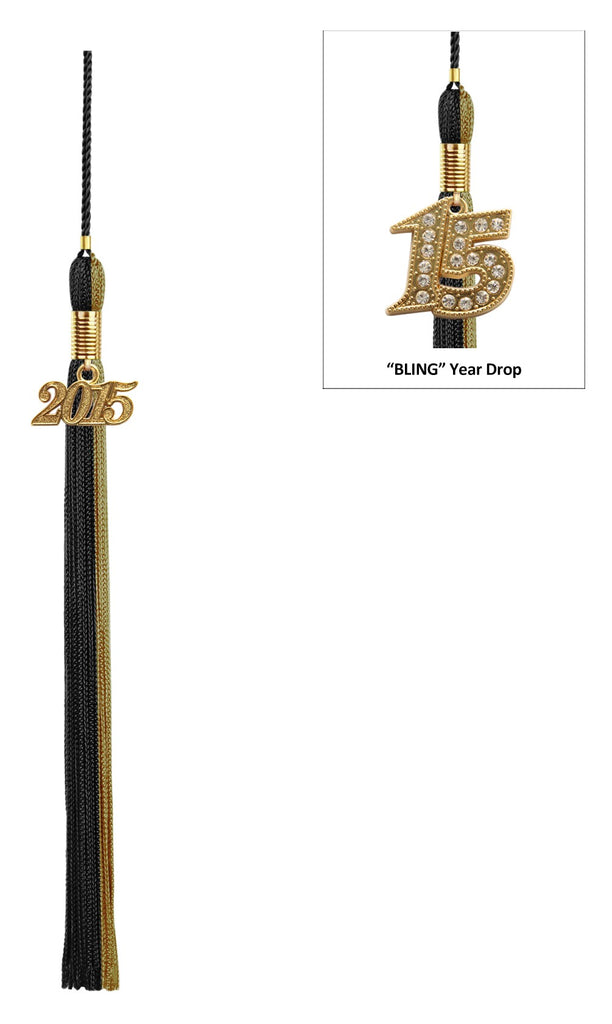 Double Color High School Tassel