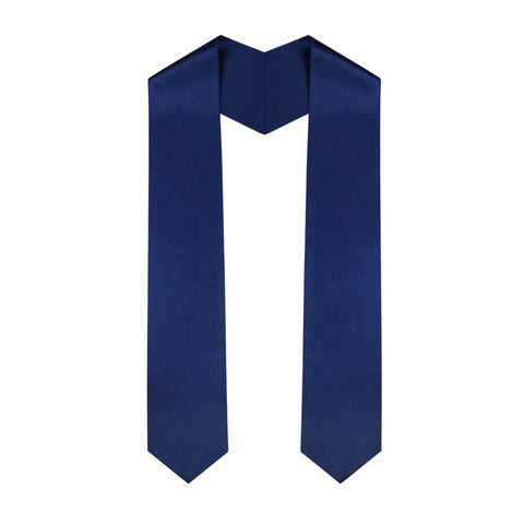 Navy Blue High School Stole