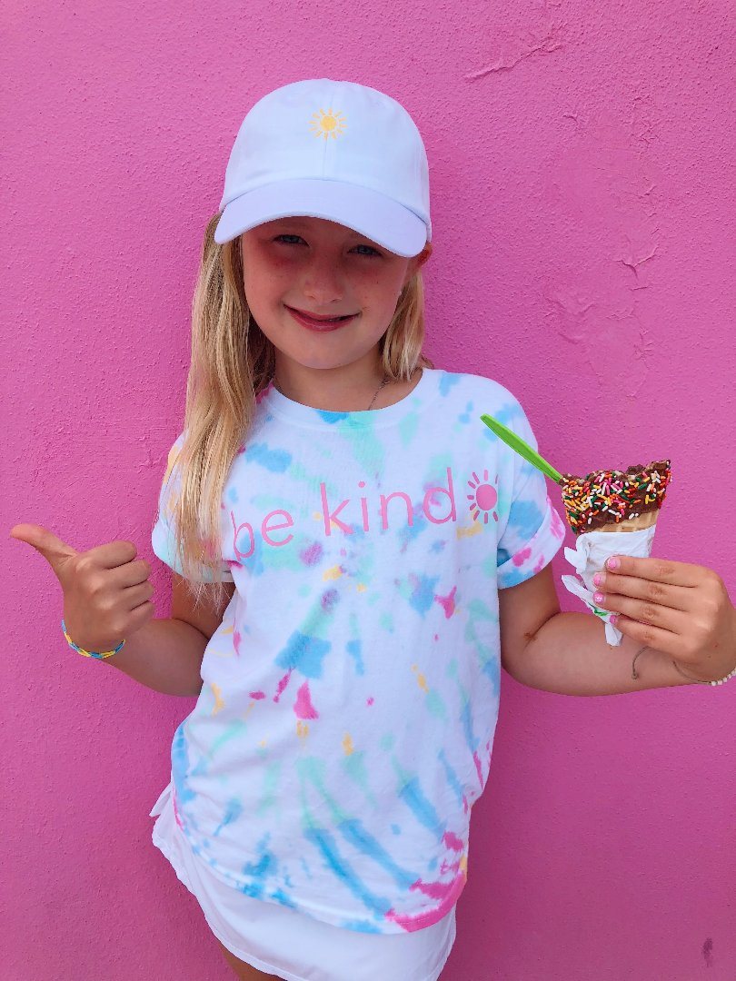 be kind tee - tie dye