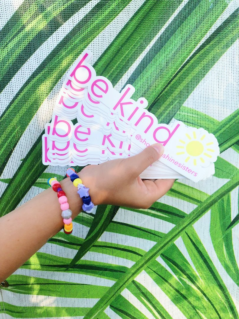 be kind sticker 5-pack