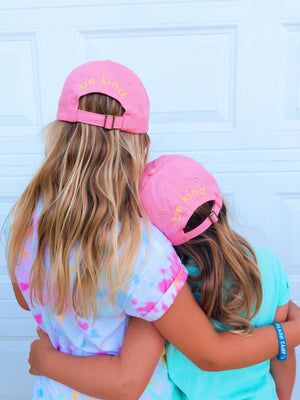 sunshine hat - baby pink