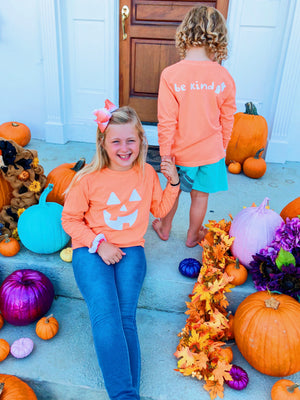 halloween edition ~ pumpkin be kind long sleeve tee