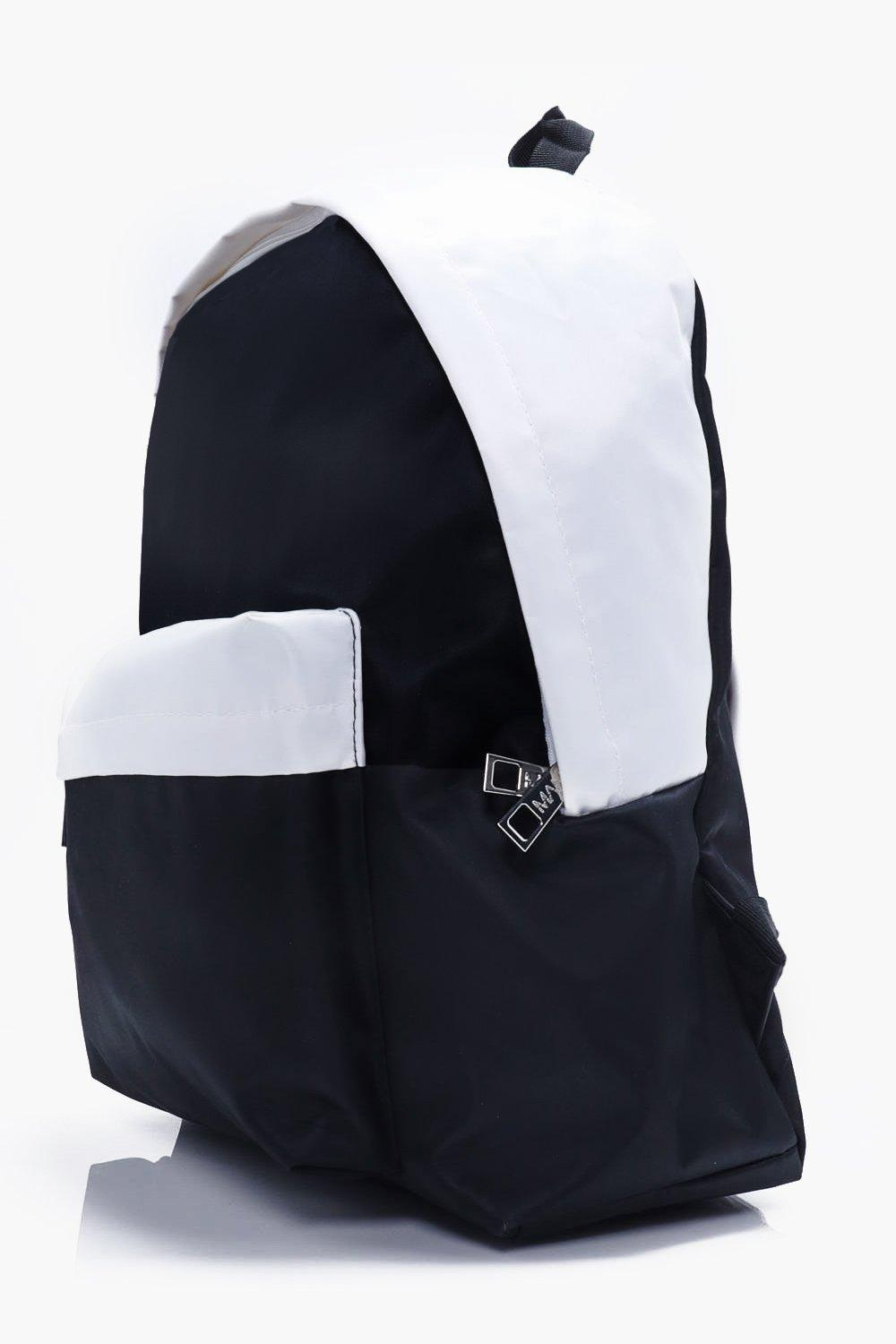 Monochrome Nylon Backpack
