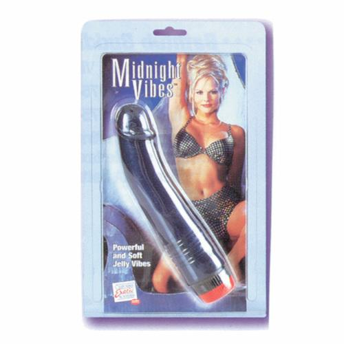 Midnight G Spot Vibrator - 6.75in