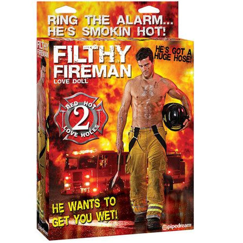 Filthy Fireman Love Doll