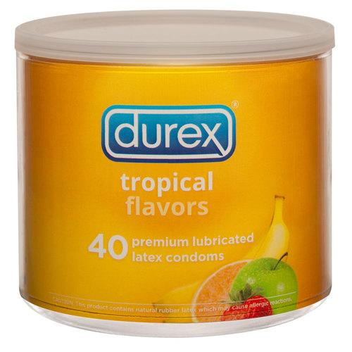Durex Tropical Flavors (40/Jar)