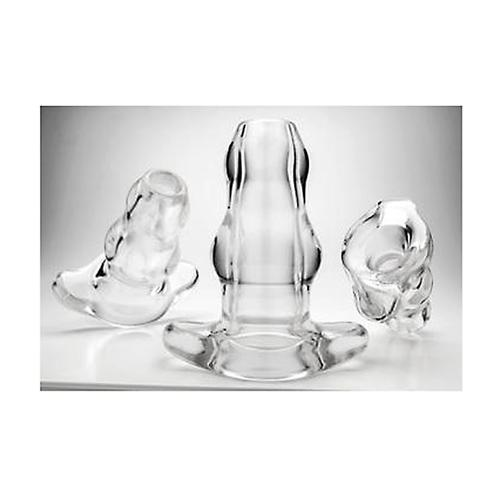 PF Double Tunnel Plug - Clear - Large