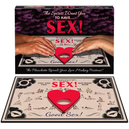 The Spirits Want You To Have Sex