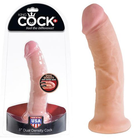 King Cock DD 8in Cock Flesh