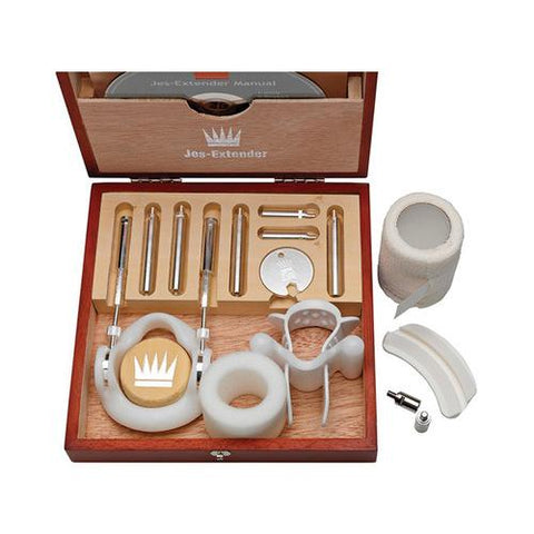 Jes Extender Silver Standard Penis Enlarger Kit