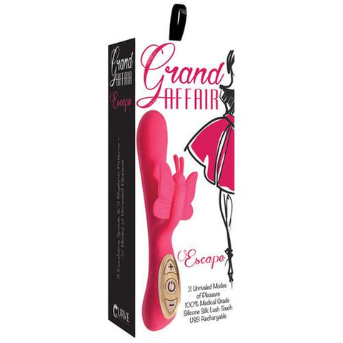 Curve Novelties Grand Affair Escape - Rose