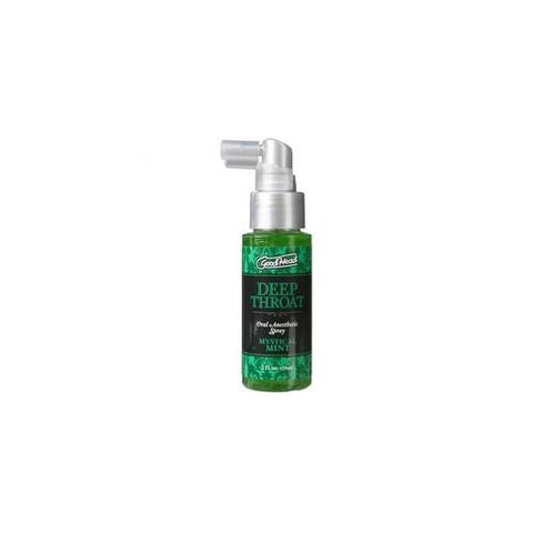 Goodhead Deep Throat Oral Aneshetic Spray 2 oz. - Mystical Mint