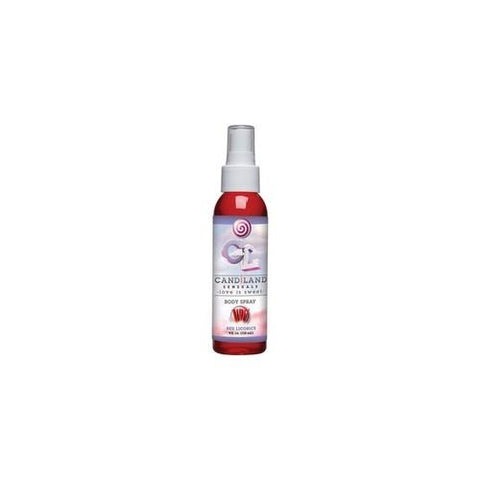 Candiland Sensuals Body Spray  - Red Licorice - 4 Oz.