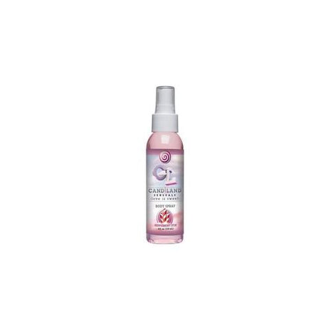 Candiland Sensuals Body Spray  - Pepermint Stix - 4 Oz.