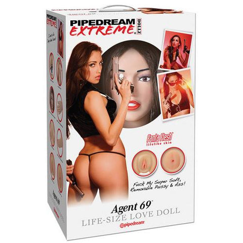 Pipedream Extreme Dollz Life Size Inflatable Love Doll - Agent 69